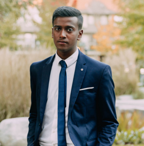 Akash Tirkey, President of the UBC Chapter of Engineers Without Borders